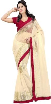 Suitsvilla Embriodered Bollywood Handloom Chiffon Sari