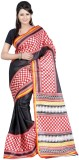 Varibha Solid Fashion Silk Saree (Black)