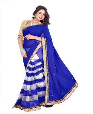 Prem International Self Design Fashion Handloom Net Sari