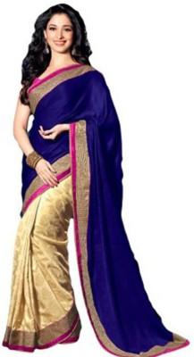 Divazz Plain Bollywood Chiffon Sari