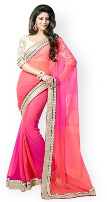 Jay Gopal Embriodered Bollywood Georgette Sari