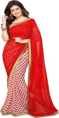Ridhhi Handwork Self Design Bollywood Georgette Sari