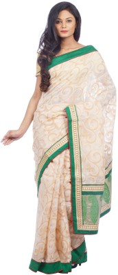 Shree Saree Kunj Self Design, Woven Patola Handloom Kota Cotton Sari