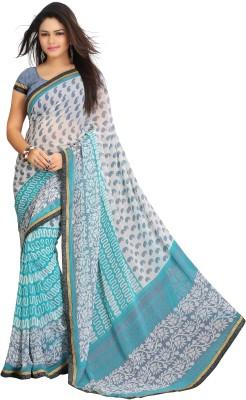Ghanumanandco Printed Fashion Georgette Sari
