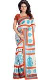 Kalika Geometric Print Bollywood Georget...