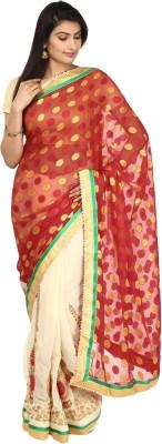Vastra Buzz Embriodered Fashion Georgette Sari