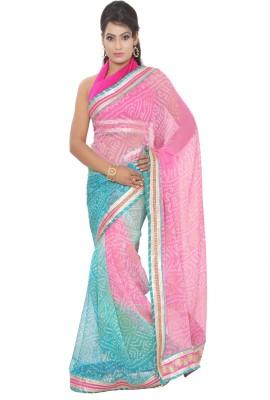 Vibhuti Sarees Self Design Fashion Pure Georgette Sari