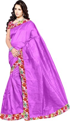 Mahalaxmi Fashion Self Design Bollywood Dupion Silk Sari