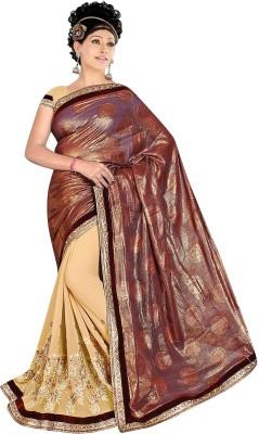 Neeta Creation Embriodered Fashion Crepe Sari
