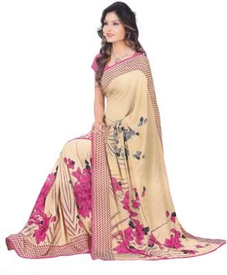 Jashiya Printed Fashion Chiffon Sari