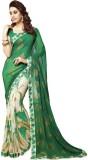 Leewodeal Printed Bollywood Georgette Sa...