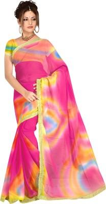 Arch Embellished Fashion Art Silk Sari