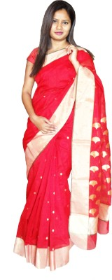 Mvd Fashion Woven Chanderi Handloom Chanderi Sari