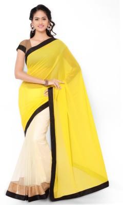 Krishna Ki Leela Embellished Fashion Georgette Sari
