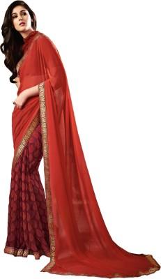 Stay Blessed Printed Fashion Chiffon Sari