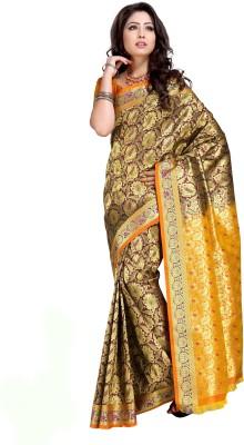 Aayori Woven Kanjivaram Art Silk Sari
