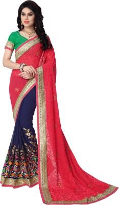 Saara Printed Fashion Net Sari