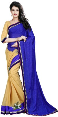 Navya Fashion Embellished Fashion Chiffon Sari