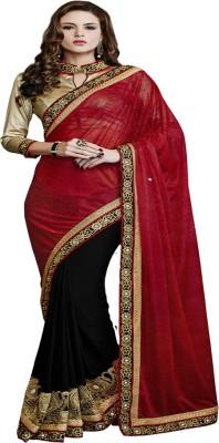 Dealtz Fashion Embriodered Fashion Net Sari