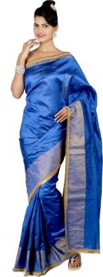 Shwapparels Solid Fashion Silk Sari