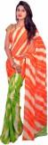 Araham Printed Leheria Synthetic Chiffon...