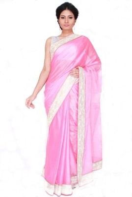 Boutique Rupkatha Embriodered Fashion Synthetic Georgette Sari