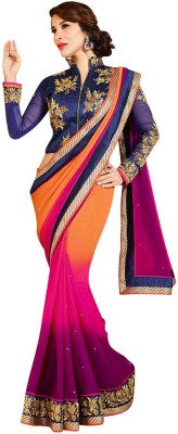 Valehri Self Design Bollywood Satin Sari