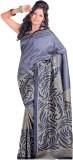 Saran Striped Fashion Art Silk Saree (Bl...