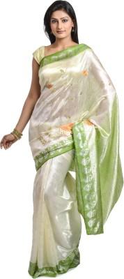 Wisegirls Woven Banarasi Handloom Banarasi Silk Sari