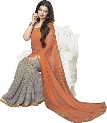 Radhika Sari Printed Bollywood Chiffon Sari