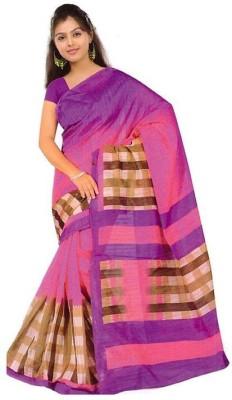 The Designer House Printed Bhagalpuri Silk Sari