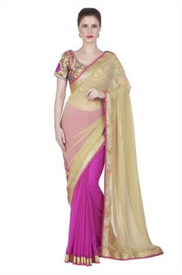 Designersareez Embriodered Fashion Chiffon Sari