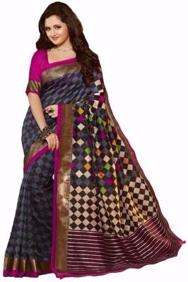 Jignesh Mangukiya Self Design Bhagalpuri Silk Sari