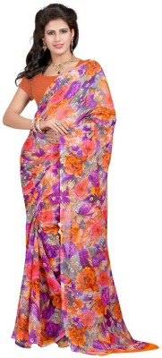 HRK Enterprise Printed Bollywood Georgette Sari