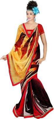 Janya Self Design Narayanpet Georgette Sari