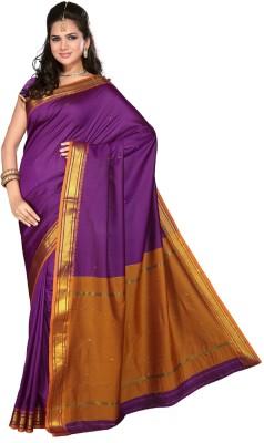 Sagar Exports Self Design Paithani Poly Silk Sari