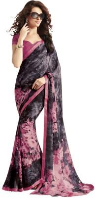 Cutie Fashion Printed Fashion Georgette Sari