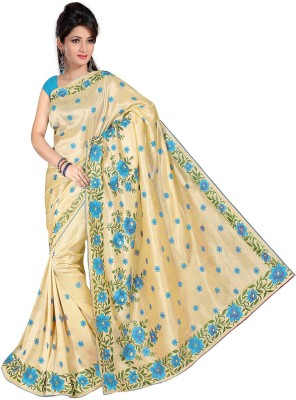 Supriya Fashion Embriodered Bhagalpuri Art Silk Sari
