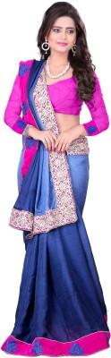 Shiddhi Vinayak Creation Embriodered Bollywood Satin Sari
