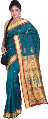 F3 Apparels Self Design Kanjivaram Art Silk Sari