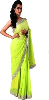Ranas Self Design Fashion Georgette Sari