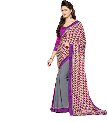 Trendyfy Printed Fashion Georgette Sari