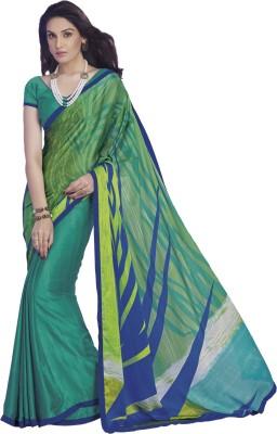 Vivacity Printed Bollywood Pure Georgette Sari