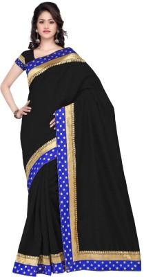 Shreepati Solid Bollywood Art Silk Sari