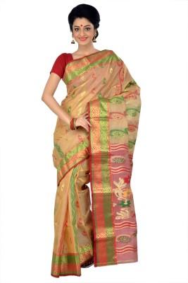 RKB Woven Fashion Handloom Tissue Silk Sari
