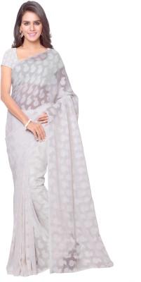 Goodfeel Floral Print Fashion Jacquard Sari