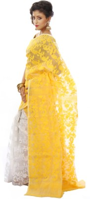 SSMITN Self Design Jamdani Cotton Sari