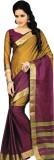 Madhevi Solid Fashion Cotton Saree (Mult...