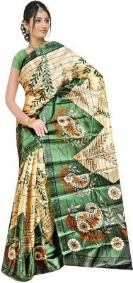 Shree balaji fashions Printed Fashion Art Silk Sari