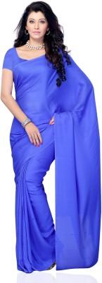JTInternational Solid Fashion Jacquard Sari